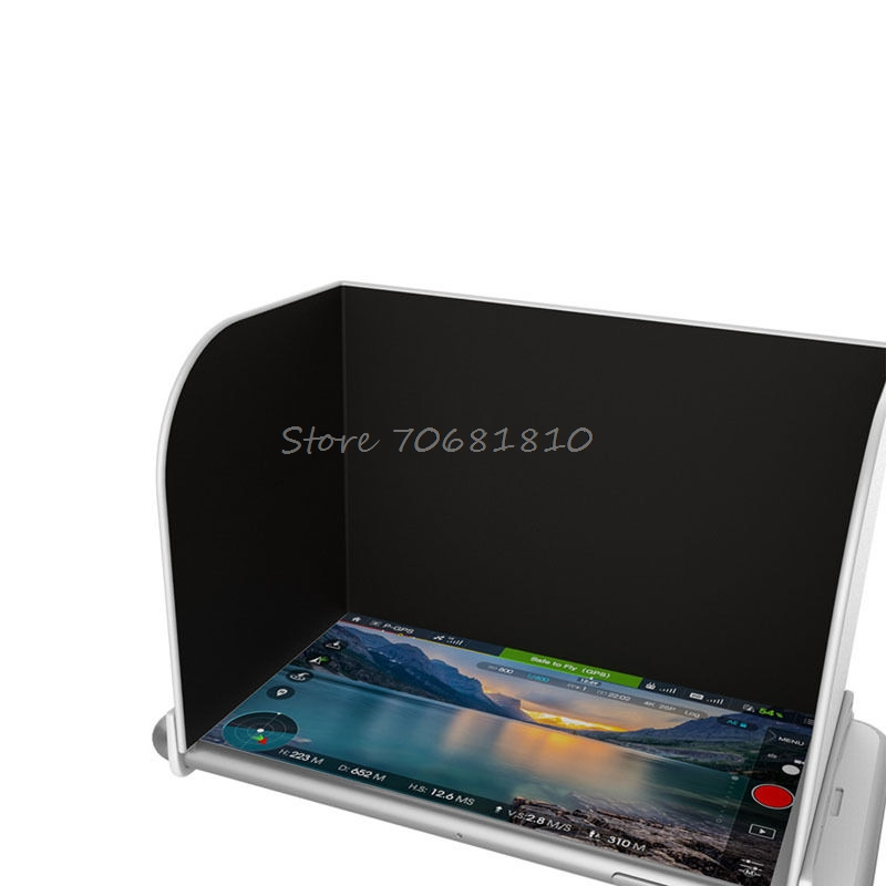 Black L128 Monitor Sunshade Sun Hood for Mavic Pro Phantom 4 Inspire OSMO R179 Drop Shipping