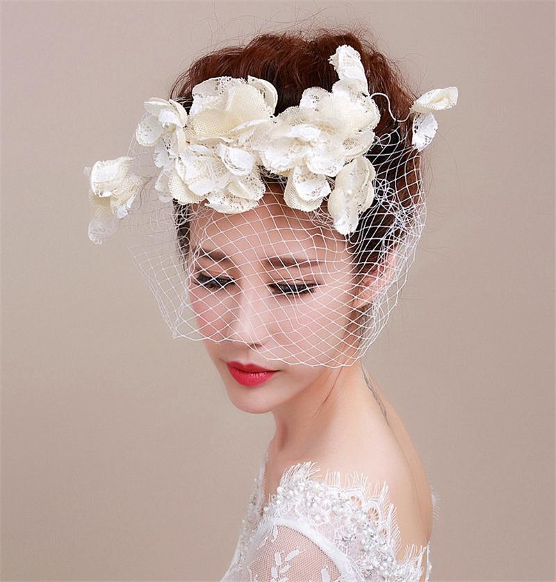 Flower Fascinator Hat Wedding Hats And Fascinators Flores Hair Accessories  Chapeu Feminino Cabelo Acessorios Para Festa WIGO0590 f917d61a522