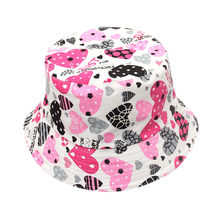 Sleeper #501 2019 NEW FASHION Toddler Baby Kids Boys Girls Floral Pattern Bucket Hats Sun Helmet Cap casual hot Free Shipping(China)