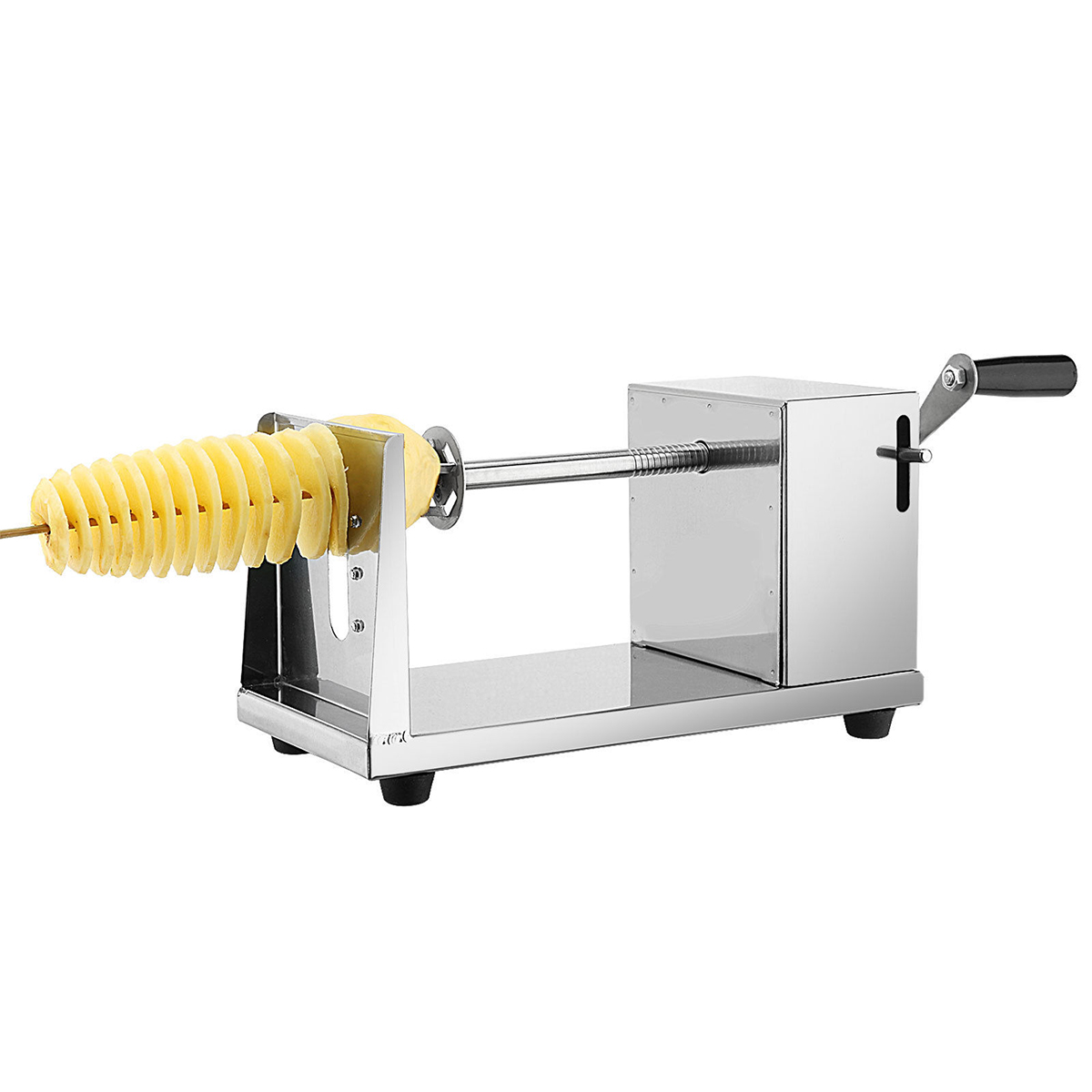 ROSENICE Potato Spiral Cutter Stainless Steel Manual ...