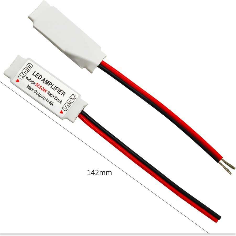 10 個 RGBW アンプコントローラ DC5-24V LED RGBW 信号拡張コントローラ 16A 5 チャンネル RGBWW 5050 LED ストリップ