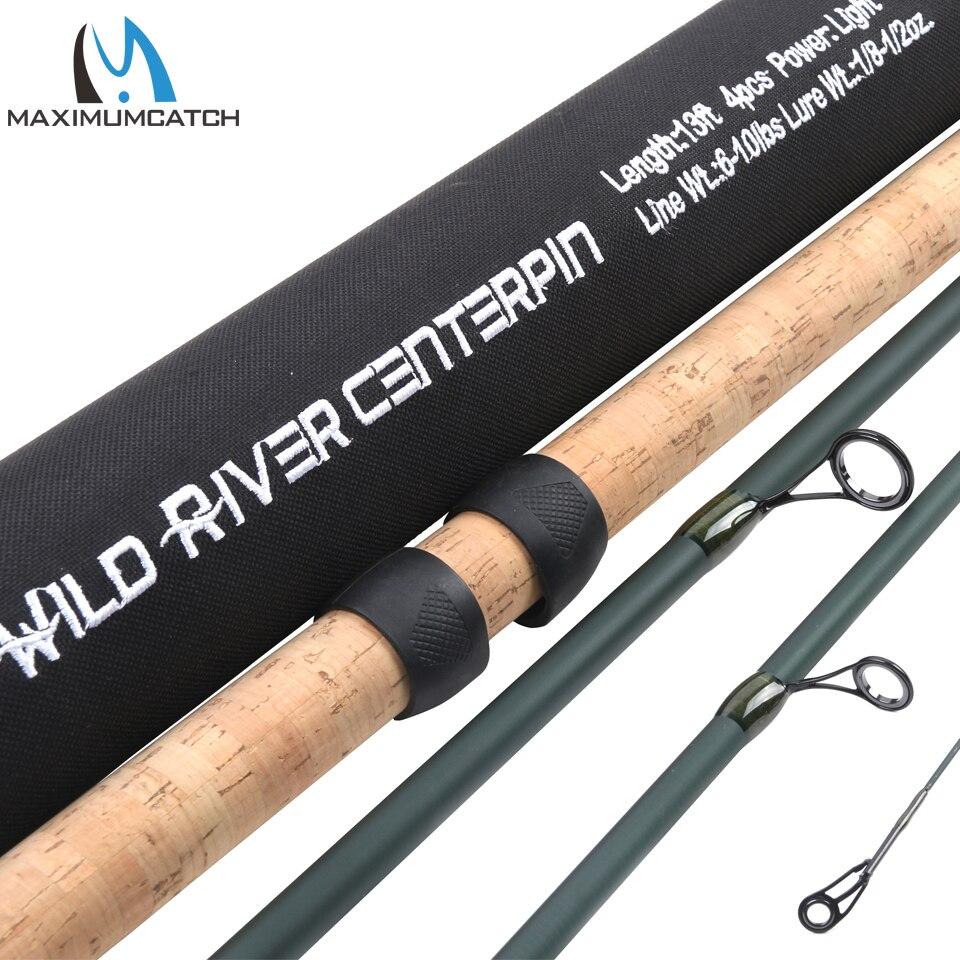 Здесь продается  Maximumcatch 13FT 4 Secs CenterPin Rod Wild River Salmon & Steelhead Float Fishing Rod  Спорт и развлечения