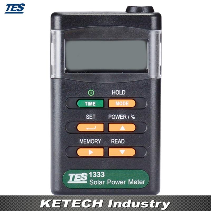 TES-1333 Solar Power Meters Digital Radiation Detector Solar Cell Energy Tester tes 1333 solar power meter solar power meters digital radiation detector solar cell energy tester