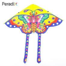 Дети бабочка кайт Мода кайт начинающих способность треугольник упражнения Бабочка кайт хорошая погода Прямая