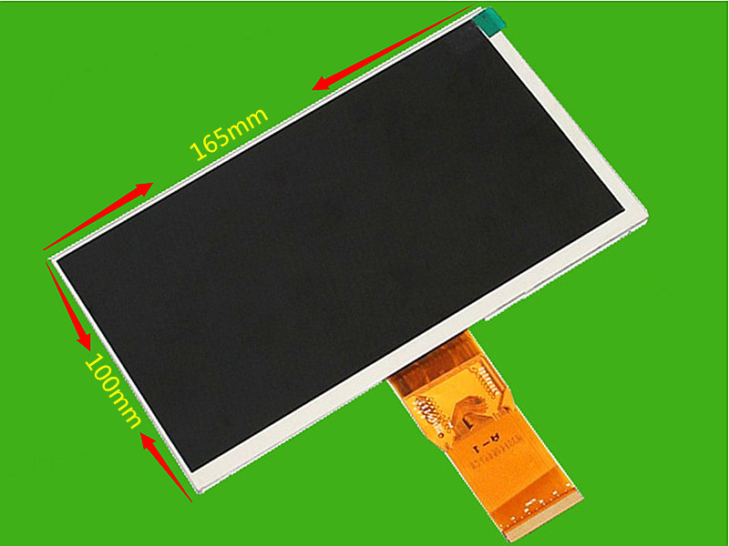 все цены на  Original new 7 inch LCD screen 7300101463 E231732 HD 1024 * 600 LCD screen for GUBE U25GT Tablet PC LCD screeen Free shipping  онлайн