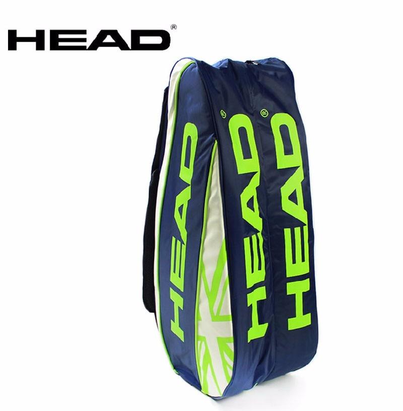 Head Tennis Bag Brand Tennis Backpack Racket Union Jack Sport Bag Large Capacity 3 6 Tennis