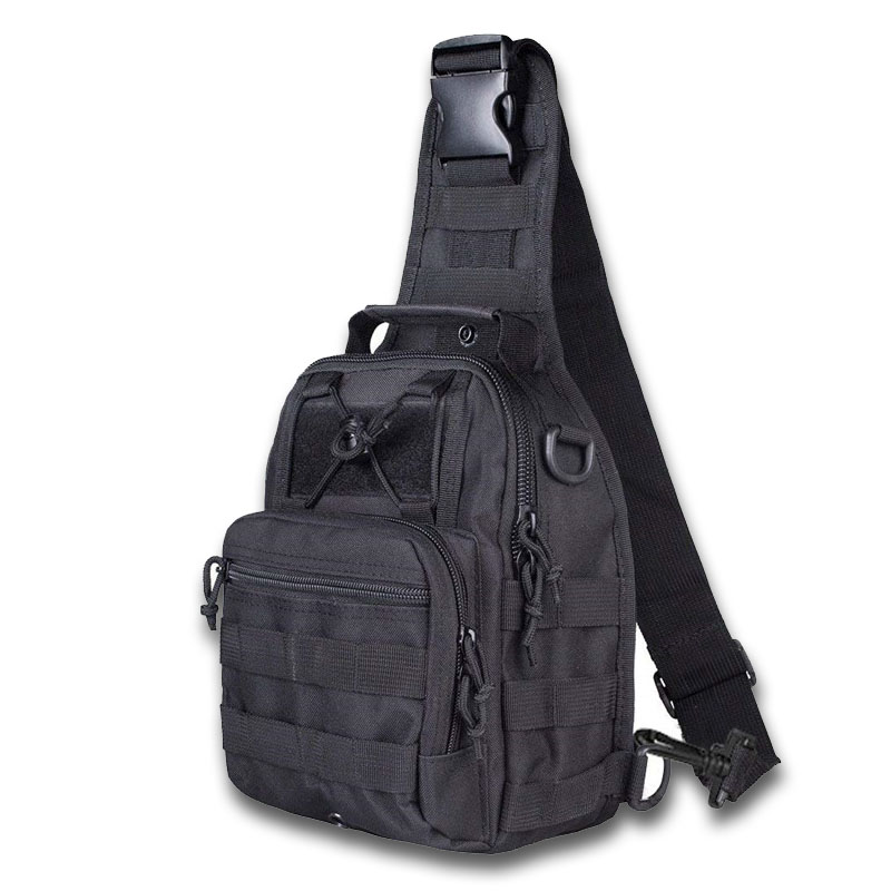Airsoft Tactical Outdoor Shoulder Messenger Bag 1000D Men Cycling Riding Travel Chest Pack Military Hunting Molle Bags Backpack цена