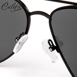 Image 4 - CALIFIT Pilot Classic Men Optical Prescription Glasses Myopia Vintage Oversized Degree Progressive Photochromic Glasses Male