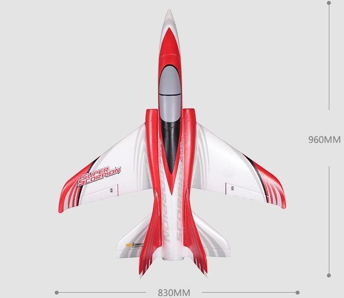 FMS ROC Hobby Scorpion 70mm Racing RC Jet ROCJ501