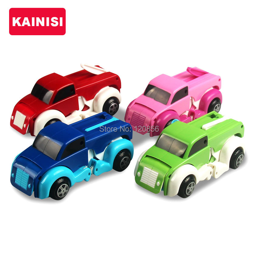 free-shipping-4-colors-14CM-cool-Automatic-transform-Dog-Car-Vehicle-Clockwork-Wind-up-toy-for-children-kids-boy-girl-toy-Gift-2