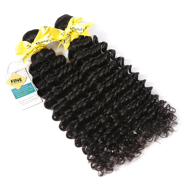 Malaysian 100% Deep Wave Human Hair Bundles