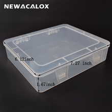 DIY Tool Box Electronic Plastic Parts Waterproof Transparent Toolbox SMD SMT Screw Containers Component Storage Case