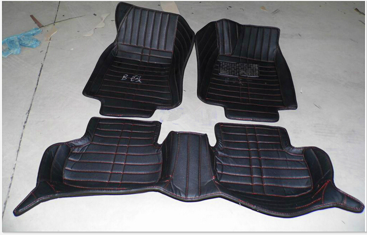 Free shipping! Customize special car floor mats for Right Hand Drive Volkswagen Golf 6 7 2016-2011 waterproof good fit carpets