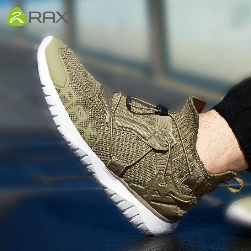 Rax Men Running Sneakers Outdoor Sports Shoes Men Women Breathable Mesh Gym Trainers Running Shoes Jogging Walking Sneakers