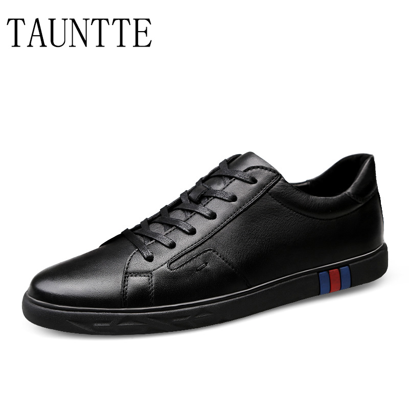 Genuine Leather Sneakers Men Anti-odor Casual Shoes Breathable Youth Shoes fashion men boat shoes genuine leather casual shoes breathable male anti odor casual shoes