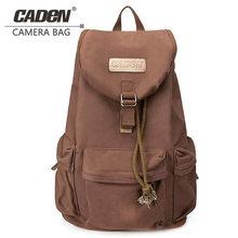 CADeN F5 сумка для цифровой зеркальной фотокамеры Рюкзак для фотосъемки водонепроницаемый фото объектив холщовые чехлы с дождевиком для камеры Canon Nikon