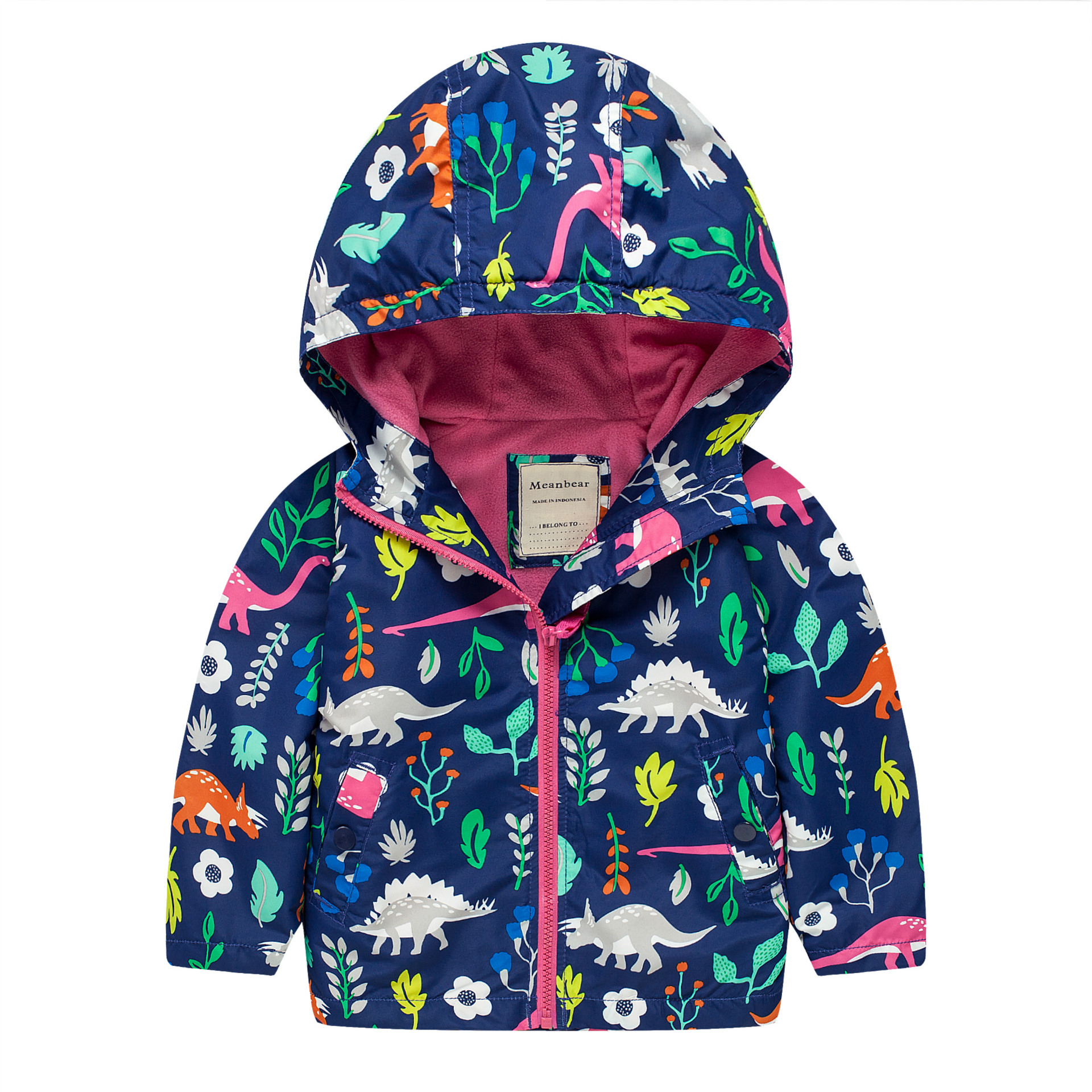 Female child plus velvet trench 2016 outdoor jacket print child trench outerwear 2014 woolen female child outerwear bow loose female child spring trench new arrival