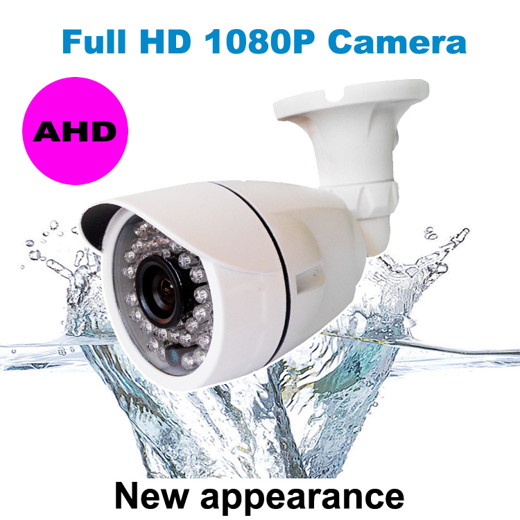 Heanworld AHD Surveillance Camera 1080P Analog High Definition CCTV bullet camera outdoor HD 2.0MP waterproof Camera system wistino cctv camera metal housing outdoor use waterproof bullet casing for ip camera hot sale white color cover case