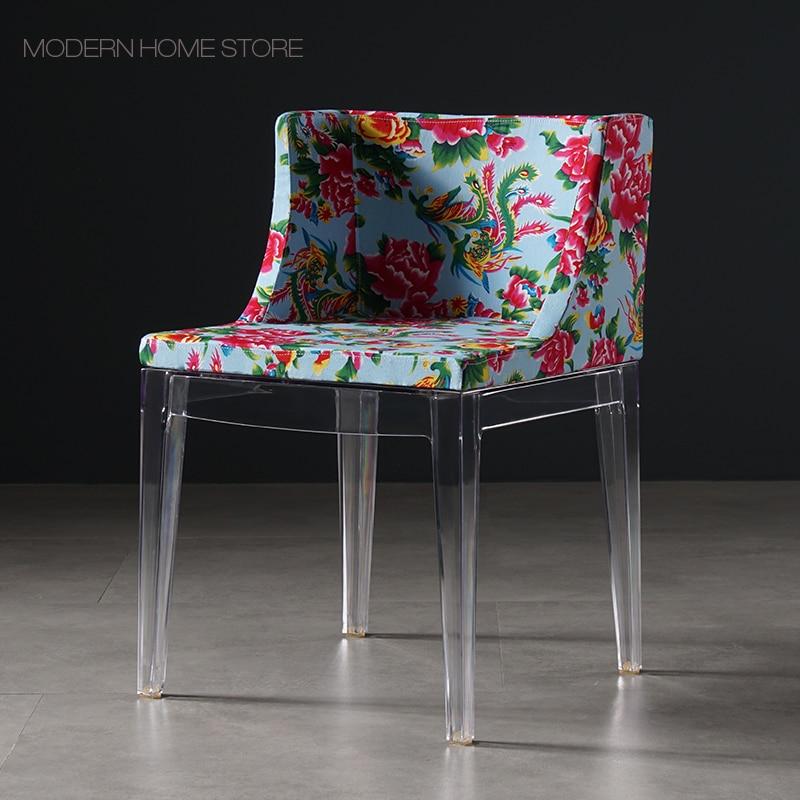 Modern Classic Fashion Design Loft colorful flower fabric ...
