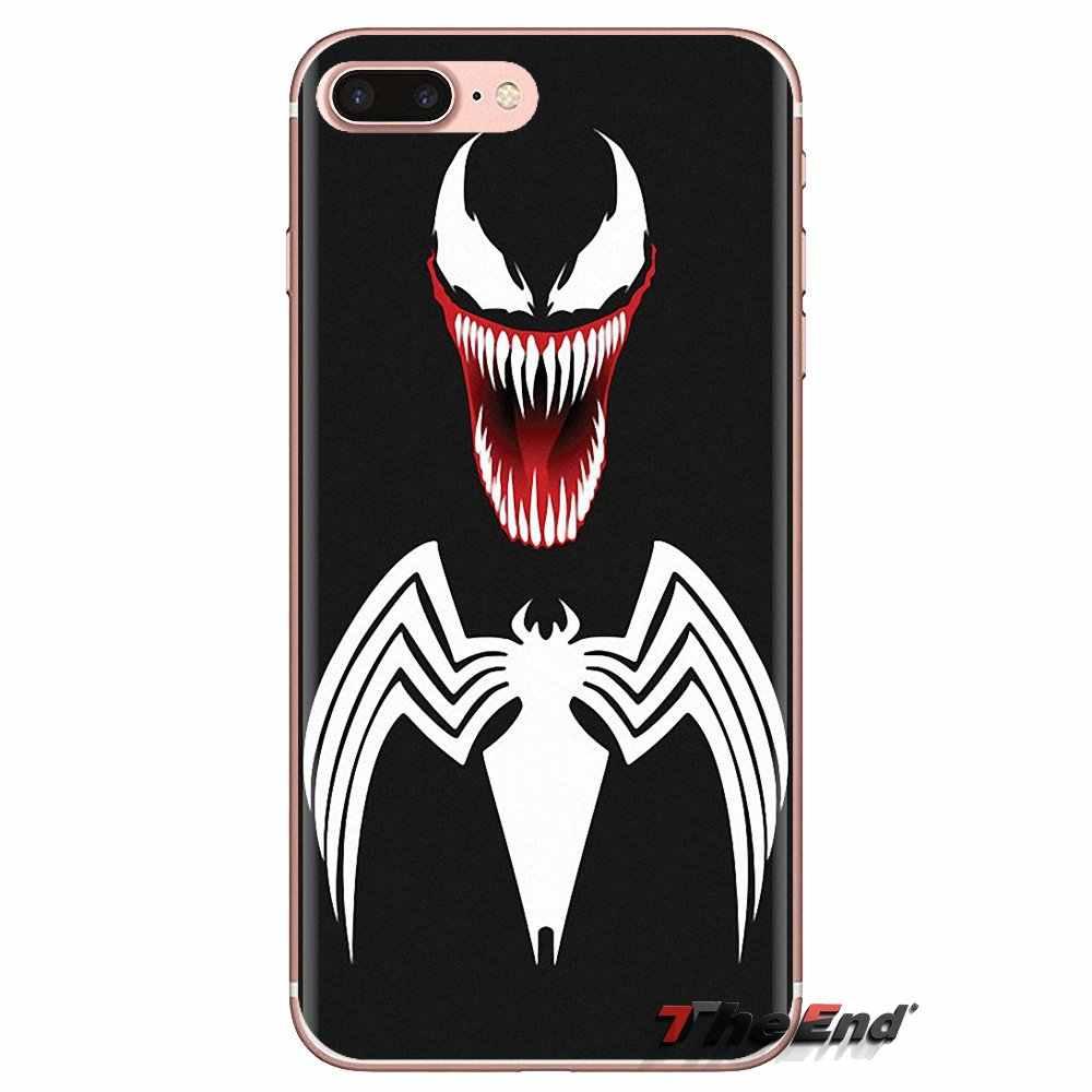 สำหรับ Samsung Galaxy A3 A5 A7 A9 A8 Star A6 Plus 2018 2015 2016 2017 นุ่มโปร่งใสกรณีครอบคลุม Venom marvel Villain Hulk