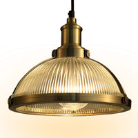 Vintage Retro Glass Lampshade Pendant Lights Glass Lamp Edison Bulbs E27 Pendant Lamp Lustres Fixtures For