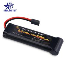 Melasta 8.4V 4200mAh 7-Cells Flat Pack NiMH Battery with Traxxas Discharge Plug for RC Racing Car Toys Hobbies