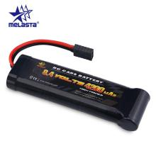 Melasta 8.4V 4200mAh 7-Cells Flat Pack NiMH Battery with Traxxas Discharge Plug for RC Racing Car