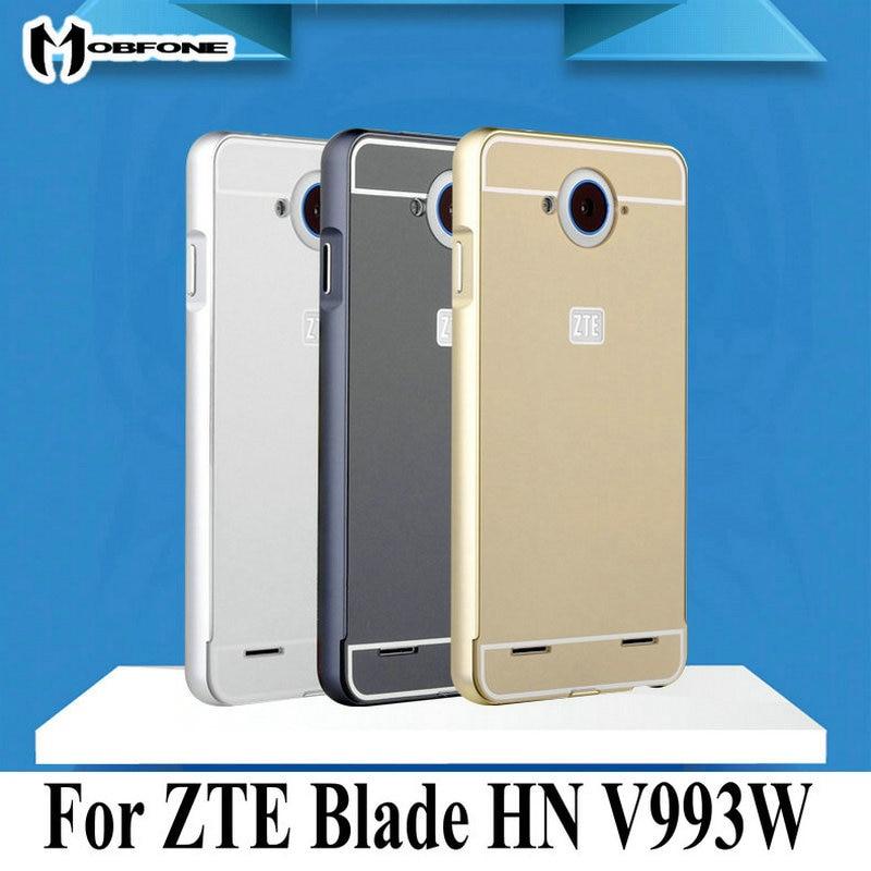 Para ZTE Blade HN v993w cubierta metal Marcos + placa trasera de ...