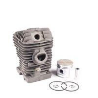 40mm Zylinder Kolben Ringe Pin Kit Für STIHL 021 023 MS210 MS230 MS 230 Kettensäge Ersatz Teile-in Werkzeugteile aus Werkzeug bei