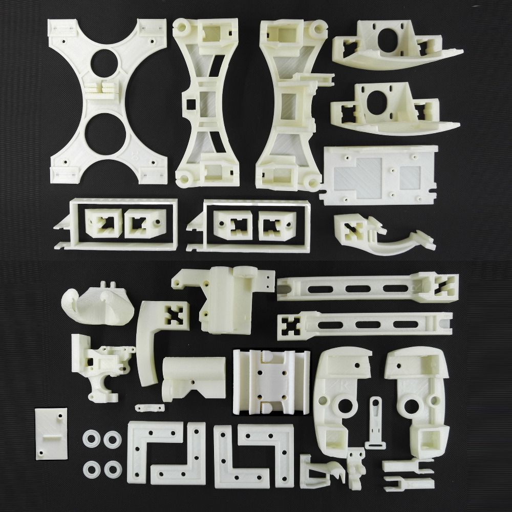 Newest Reprap Wilson II 3D Printer Printed Parts Kit Required and Recommended Wilson2 3D Printer Printed
