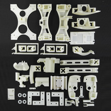 Новые, Уилсон II 3D Принтер Reprap Печатных Частей-Требуется, и Рекомендуется, Wilson2 3d-принтер Печатные Части, ABS, белый