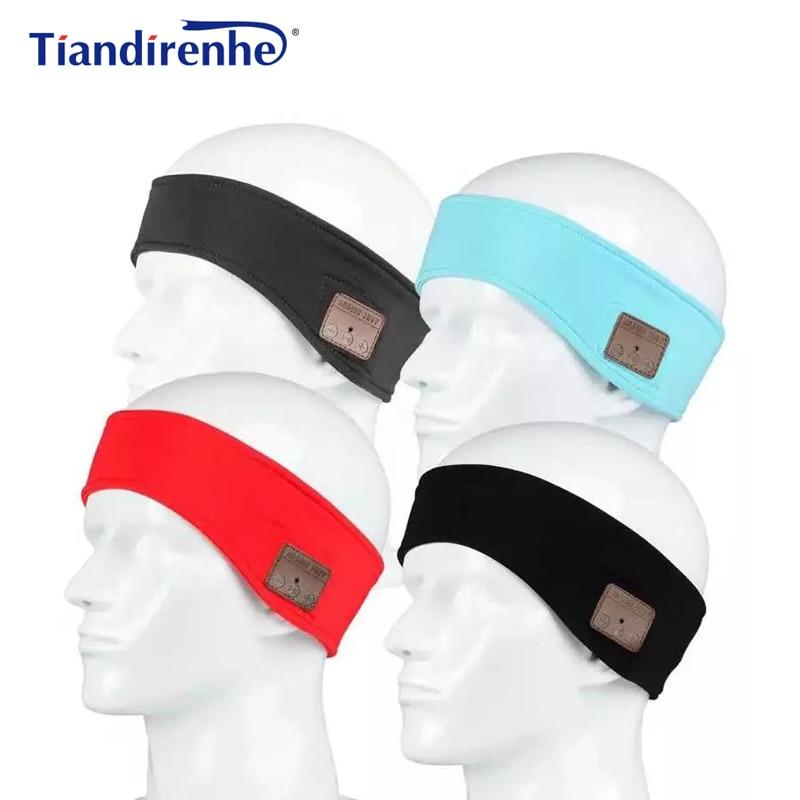 New Wireless Bluetooth Headphone Headband Hat Sleep Soft Warm Sports Smart Cap Smart Earphone Stereo Headset for iPhone xiaomi edt bluetooth music beanie hat soft warm cap with stereo headphone headset speaker
