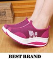 2015 New Spring/Autumn wedge shoes for women sapatos femininos Platform casual breathable Weight Loss Walking Shoes freeshipping