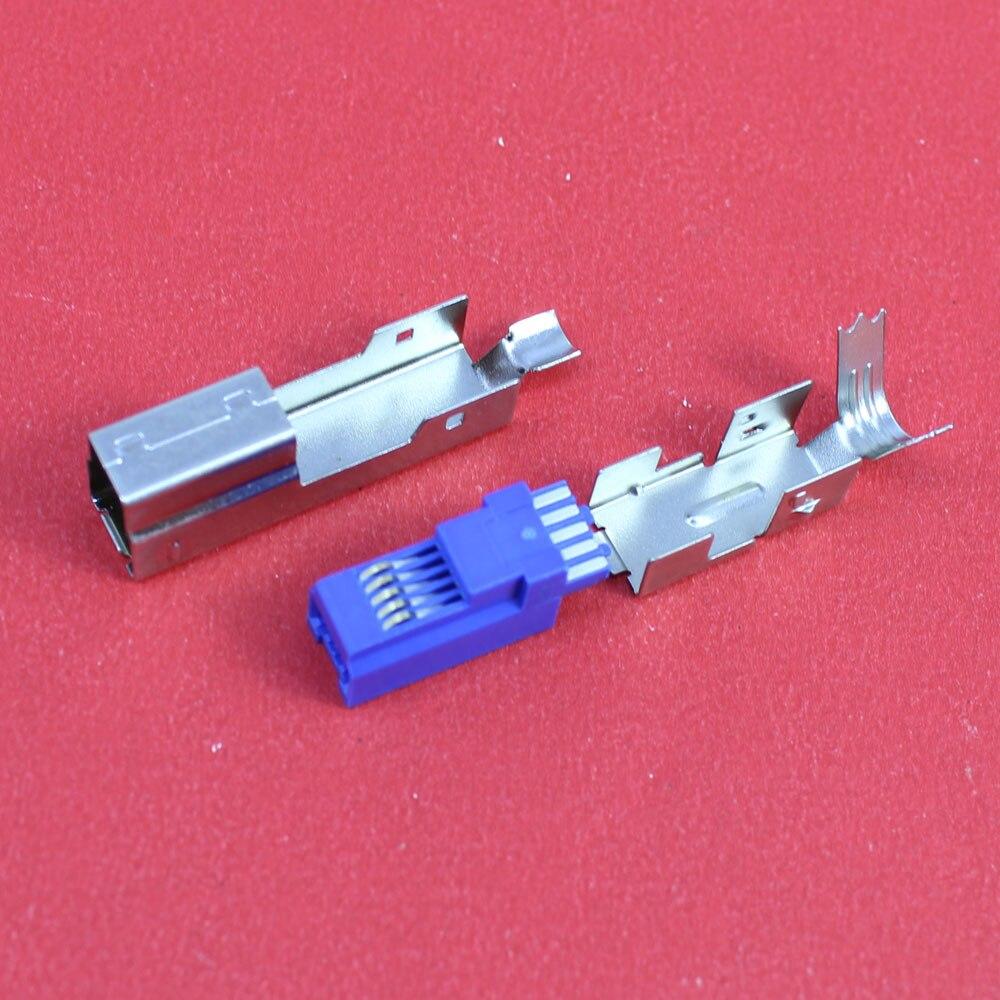 1 шт разъем USB 3.0 Тип припоя USB 3.0 BM типа штекер разъем 3 частей 3 -в-1