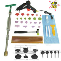 Best Brass Head 2 In 1 Slide Hammer Dent Puller Lifter Kit Car Paintless Dent Repair