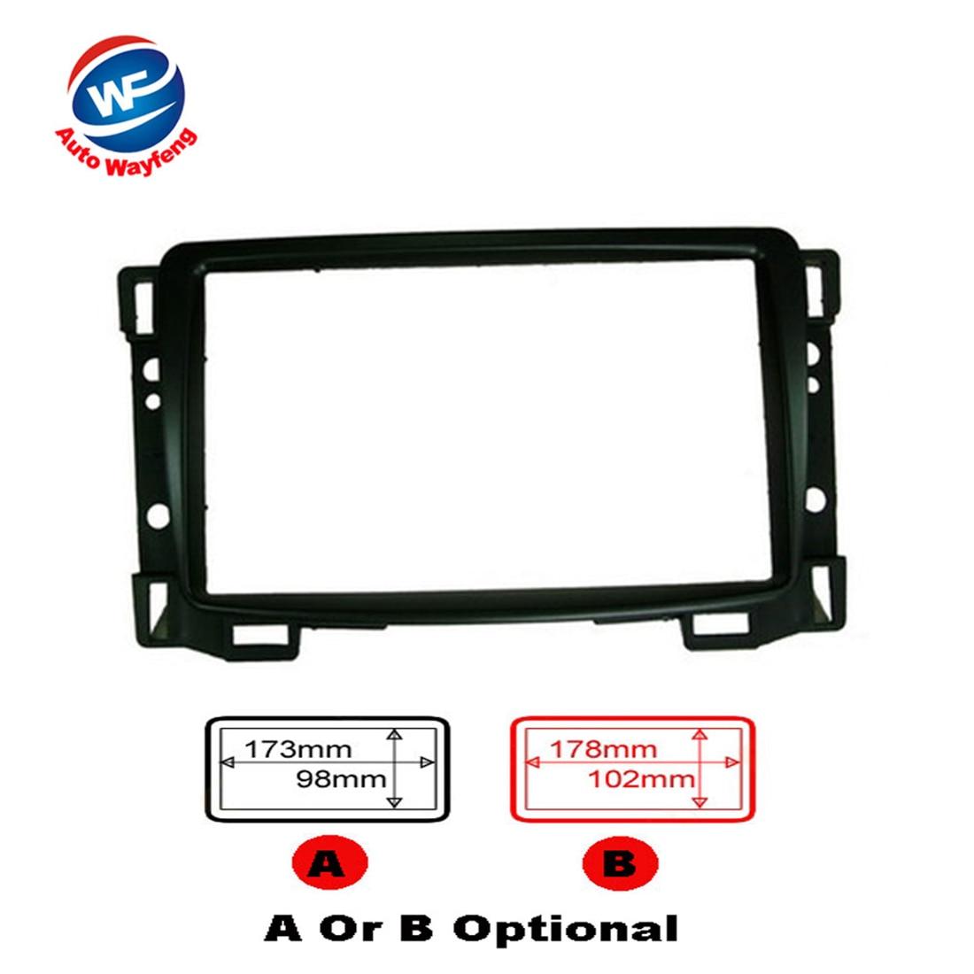 2016 Car refitting DVD frame,DVD panel,Dash Kit,Fascia,Radio Frame Fit For 2010+ Chevrolet Sail, 2DIN
