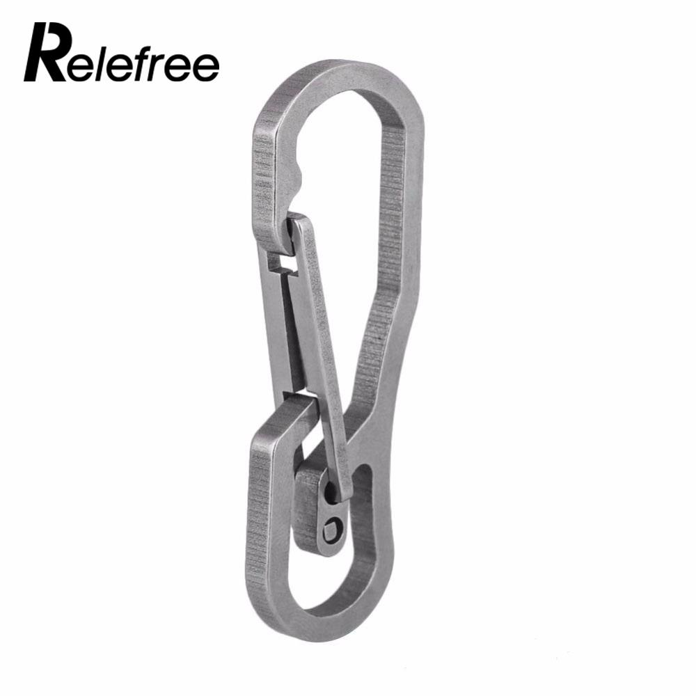 Multi-function Outdoor Sports Climbing Metal Carabiner EDC Key Chain Clip Hook Locking Camping Hiking Climbing Accessories