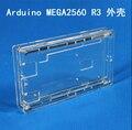 Melhor Preço Caixa de Gabinete de Acrílico Transparente Brilho Claro Caso Capa Compatível Para Arduino Mega 2560 R3 UNO diy Frete Grátis