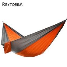 Portable Nylon Parachute Hammock Camping Survival Garden Hunting Leisure Hamac Travel Double Person Hamak
