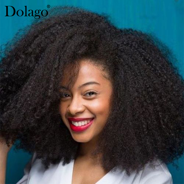 Mongolian Afro Kinky Curly Hair Weave 4b 4c 100 Natural Virgin