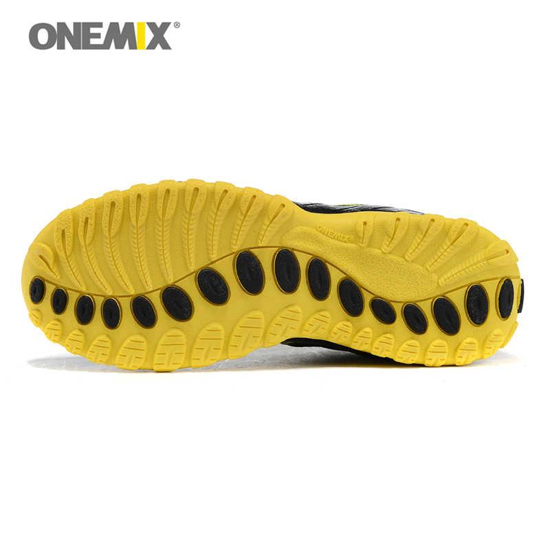 Onemix الرجال الرياضة احذية الجري حذاء رياضة الهواء شبكة تنفس رياضية عداء الركض المدربين ل رجل الصيف المشي 7 ألوان 1092