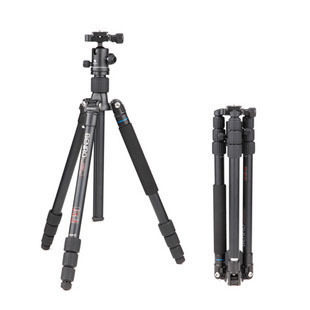 DHL GOPRO BENRO  A1682TB1 travel Angel tripod detachable reflexed  monopod  Aluminum  tripod Alpenstock 3 in 1 wholesale dhl gopro benro a550fhd2 urban elf kit aluminum tripod three dimensional head camera tripod