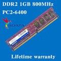 Настольных памяти пожизненная гарантия для ADATA DDR2 1 ГБ 800 мГц PC2-6400U 800 1 г оперативной памяти компьютера 240PIN оригинальной аутентичной