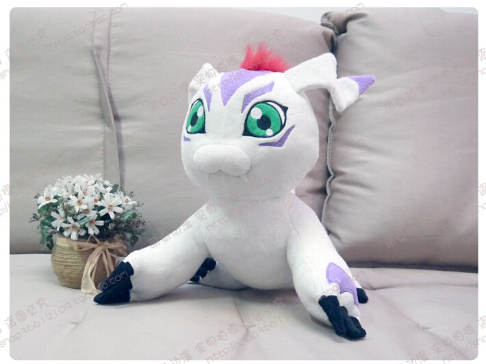 New Digimon Adventure Plush Toys GOMAMON 40cm Stuffed Animals Toy Cosplay Props Pelucia Boneca Brinquedos For Children Gifts 2016 toy baralho mr fuzzy magica worm trick twisty plush wiggle stuffed animals street toy for kids gift 21cm