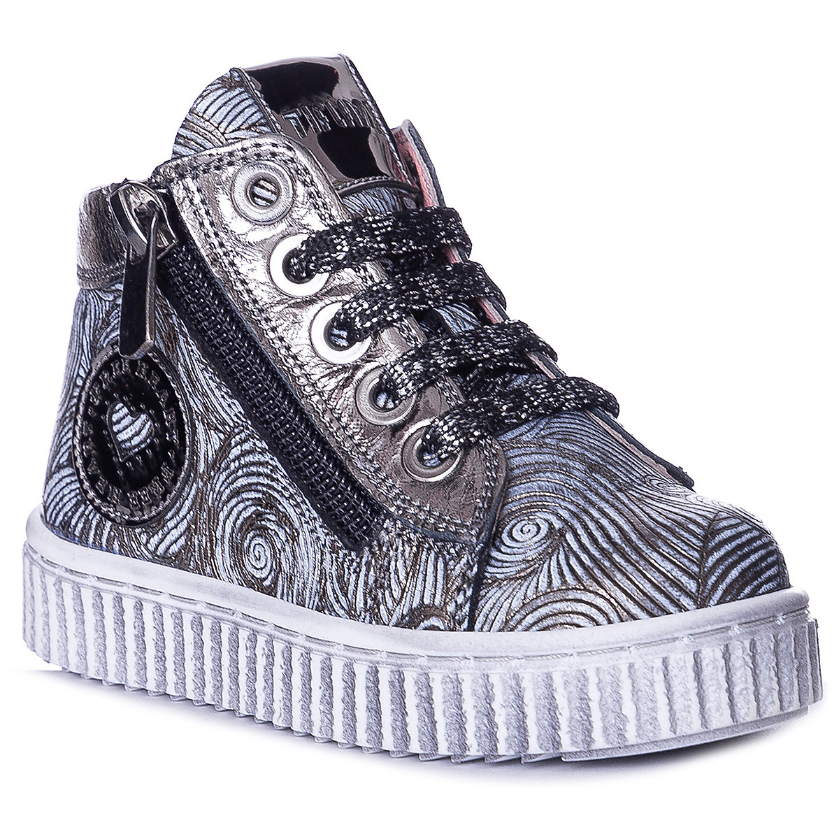 TIFLANI Children Casual Shoes 10924934 sneakers running shoes for children Gray sport Girls Leather sneakers women trainers breathable print flower casual shoes woman 2018 summer mesh low top shoes zapatillas deportivas
