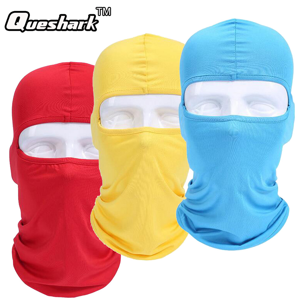 Outdoor Sunscreen Cycling Masks Multi-function Magic Full Face Mask Hiking Camping Climbing Windproof Neck Mask