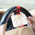 Soporte para bicicleta motocicleta volante del coche soporte para teléfono móvil soporte de montaje para iphone 6 4s 5s 6 s xiaomi redmi 3/nota 3