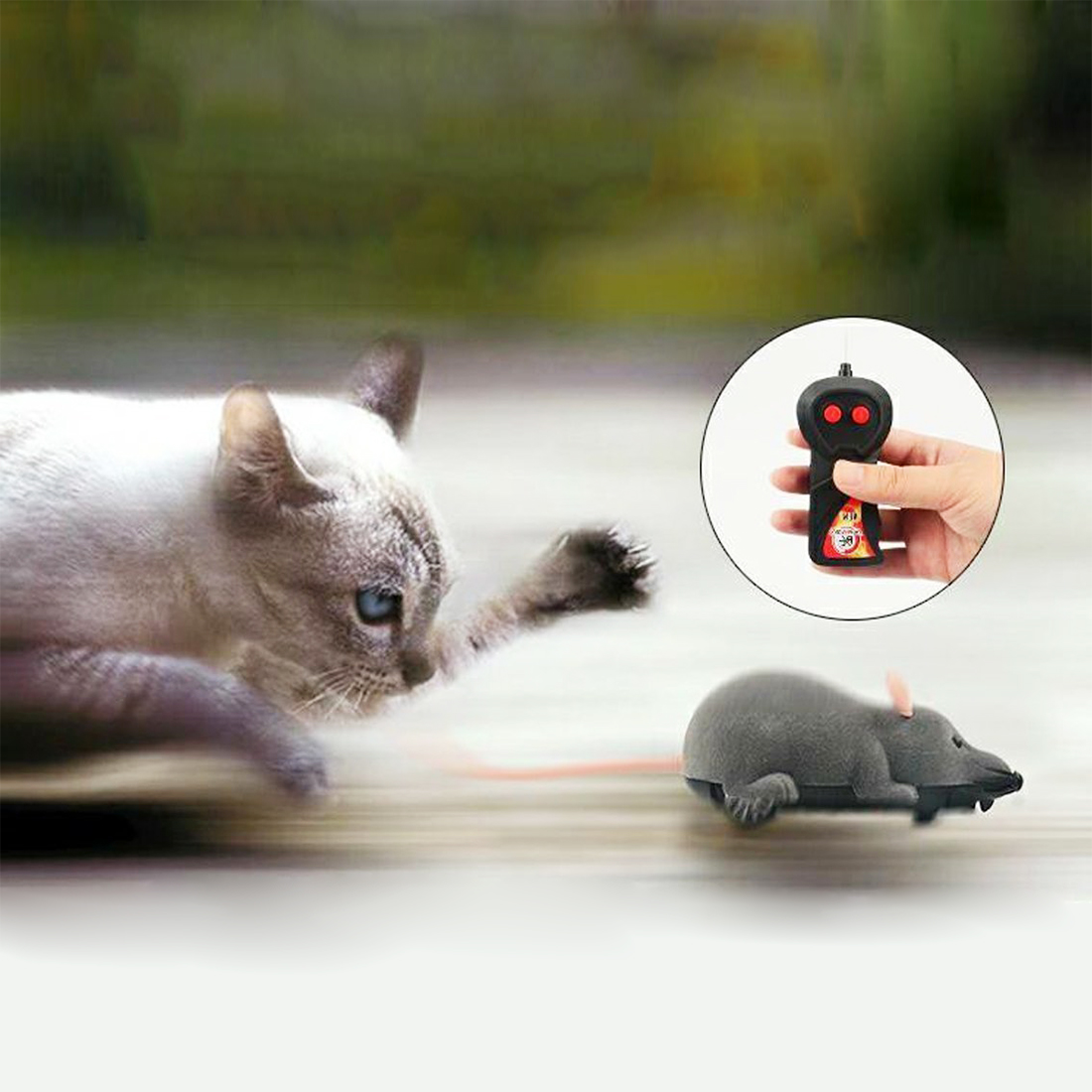 Controle remoto sem fio rc eletrônico rato