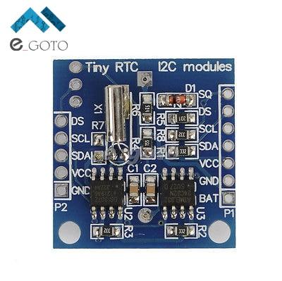 Крошечный RTC I2C RTC DS1307 AT24C32 реального времени памяти часы модуль для Arduino AVR пик 51 arm