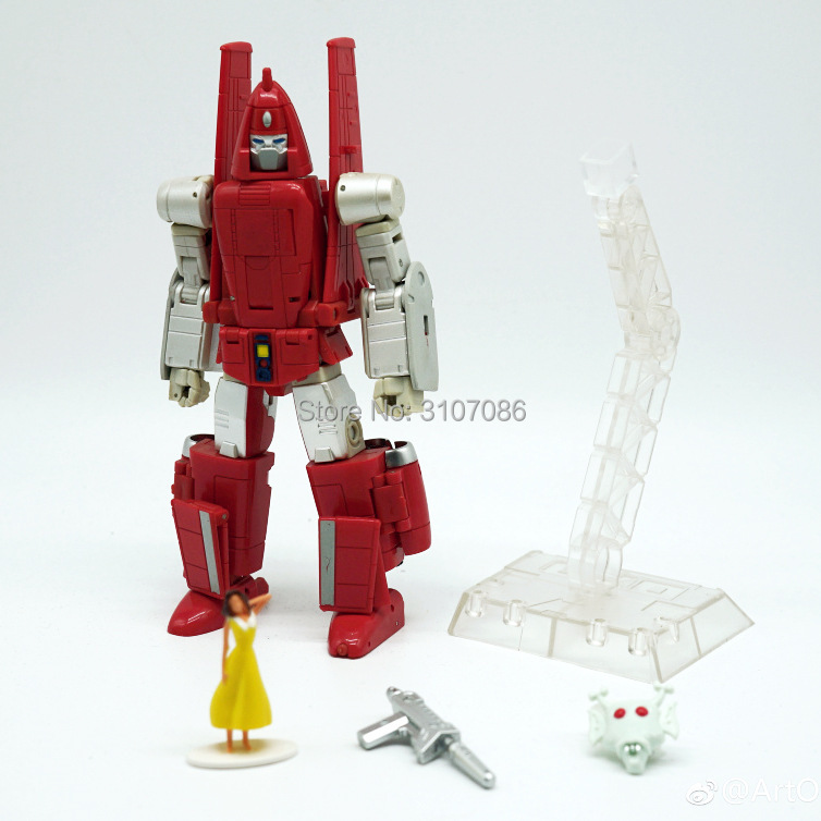 US $34 95  Aliexpress com : Buy G1 Transformation Powerglide KO DX9  Masterpiece Richthofen Glider Mode Action Figure Robot Toys from Reliable  Action &